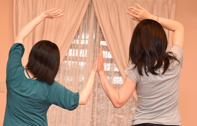 福岡県古賀市YAROOM 中高生のためのヨガ